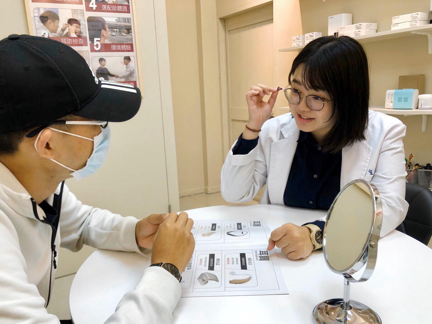 聽力保健專家盧宣佑聽力師元健台中中清店