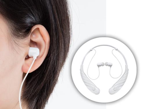 耳寶充電式脖掛型助聽器6KB-白色款